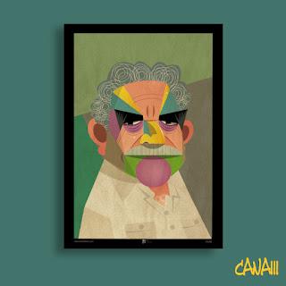 Póster Gabriel García Márquez por CANAM