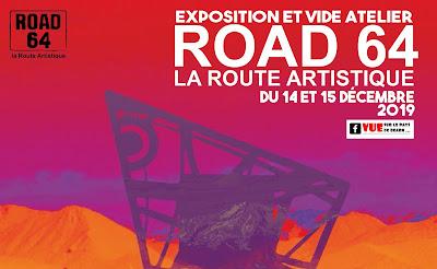 exposition route artistique Road 64 decembre 2019