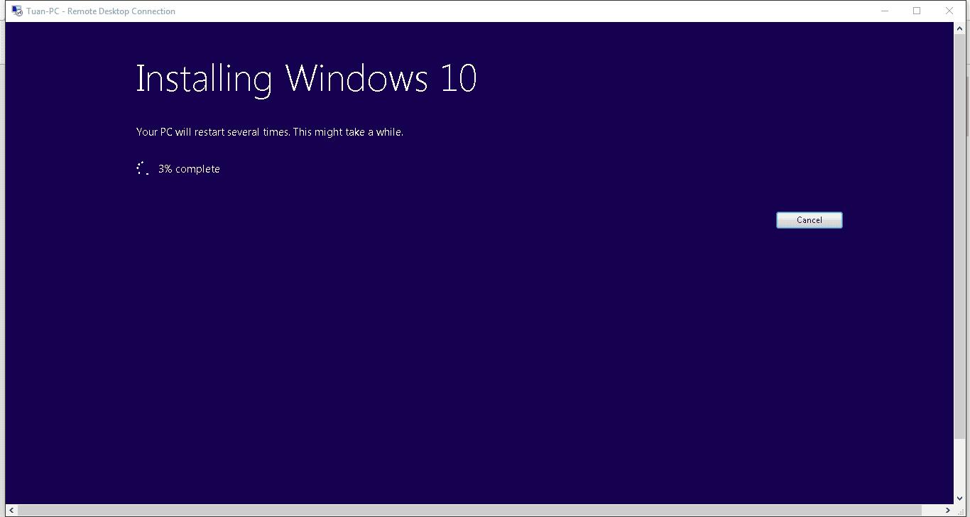 Các bước nâng cấp lên Windows 10 trực tiếp cho các máy tính trong cùng mạng Lan - Ảnh 9
