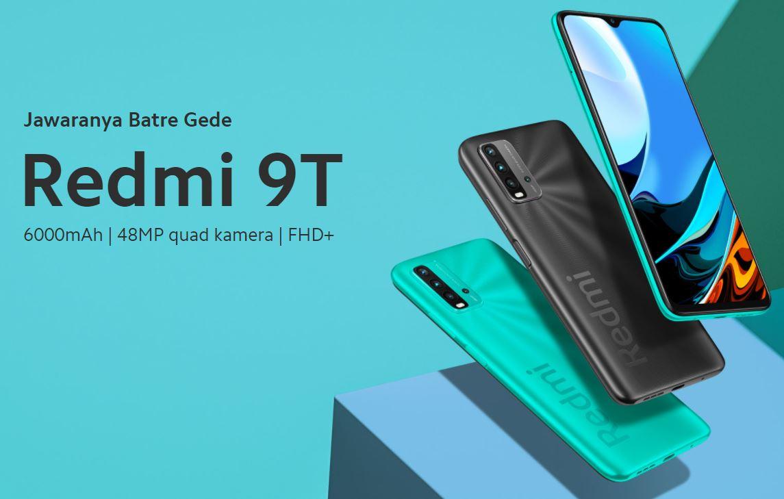 Harga dan Spesifikasi Xiaomi Redmi 9T, Baterai Jumbo dengan Quad Kamera