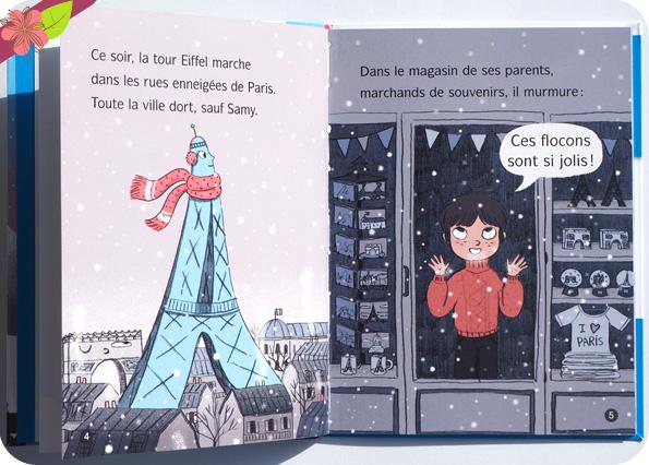 La tour Eiffel fait du ski ! de Mymi Doinet et Mélanie Roubineau - Nathan