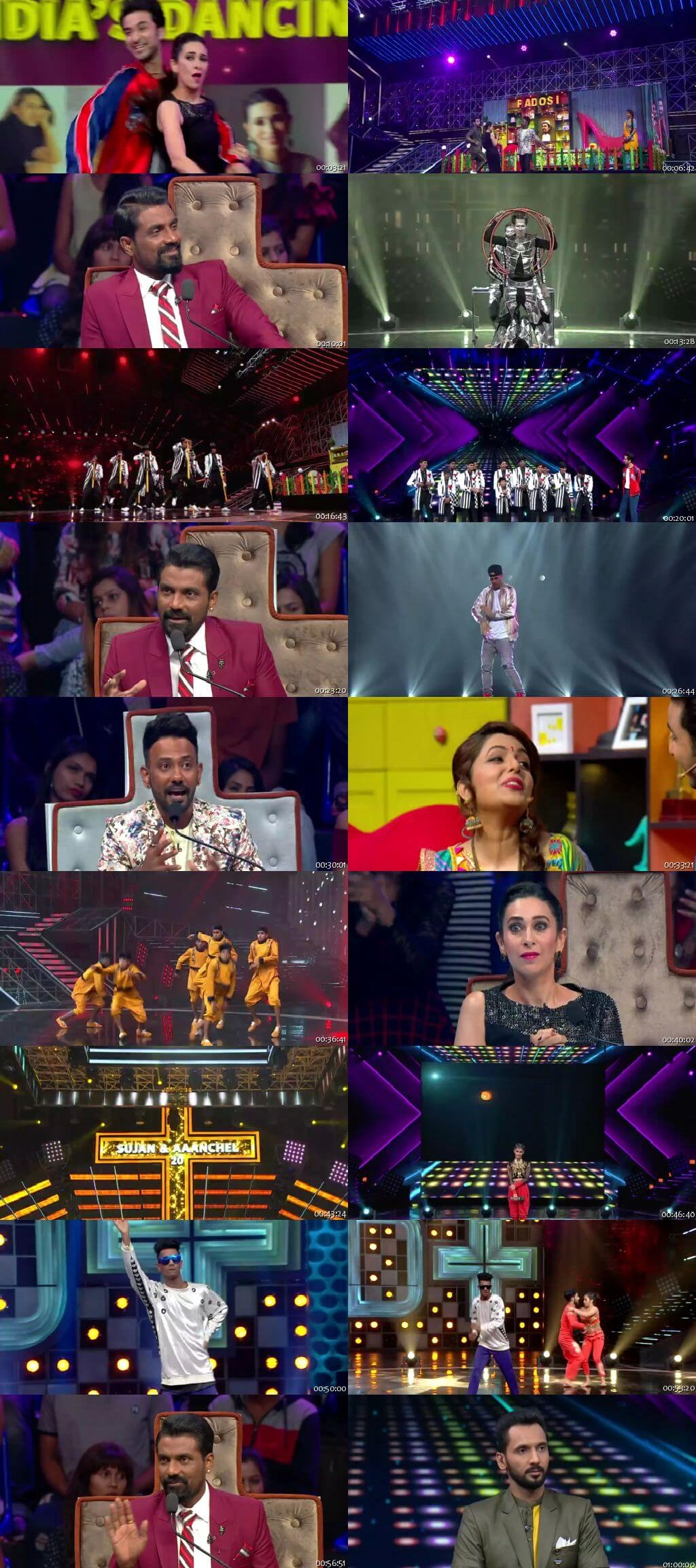 Screenshots Of Hindi Show Dance Plus Season 04 11th November 2018 Episode 11 300MB 480P HD