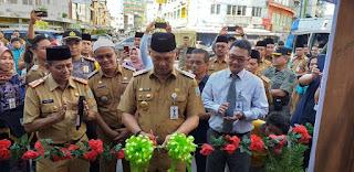 Walikota Jambi Meresmikan Dua Pasar Bedug Di Bulan Suci Ramadhan.
