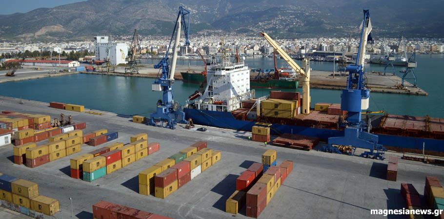 Νέο γερανό αποκτά το λιμάνι Βόλου μέσω του ΕΣΠΑ