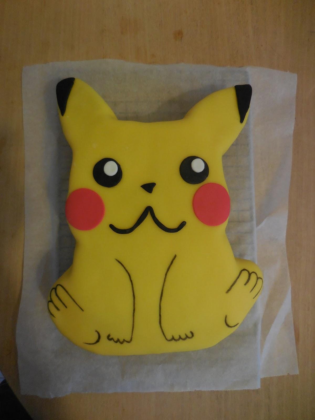 pikachu taart Conny Bakes: Pikachu Pokémon Taart voor een jarige job! pikachu taart