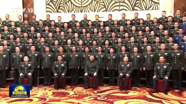 Why did Xi meet PLA Generals?