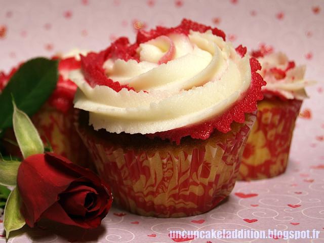 Cupcakes Rose & Litchi