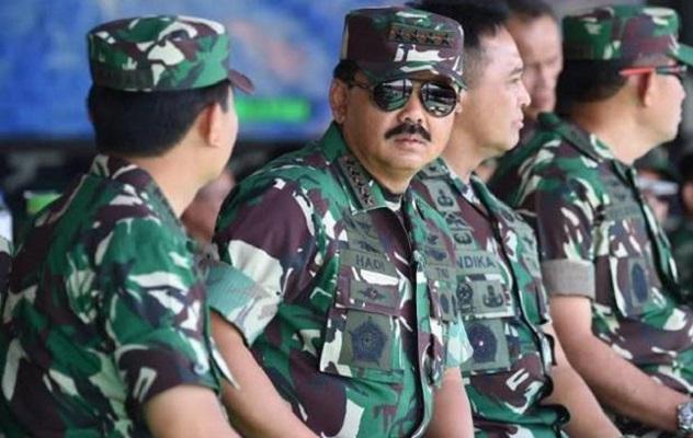 Heboh Soal Baliho, DPR Berharap TNI Tidak Terjebak Dalam Politik Praktis