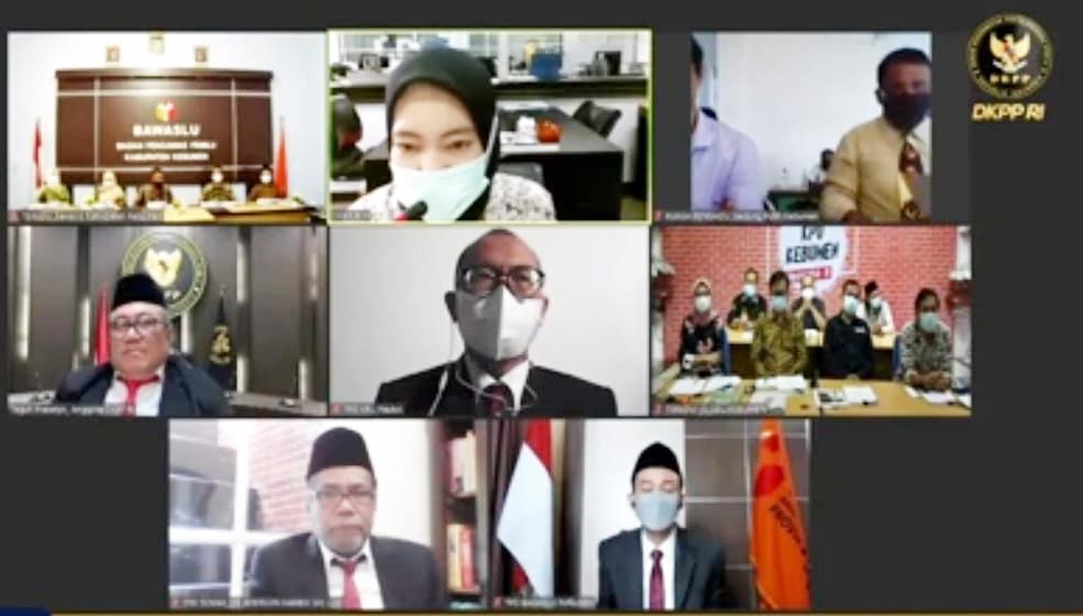 Hari ini, Sidang Pembacaan Putusan DKPP Terkait KPU dan Bawaslu Kebumen