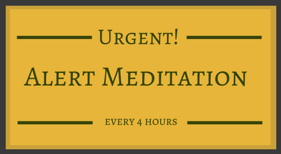 Active meditations at 4 hours interval