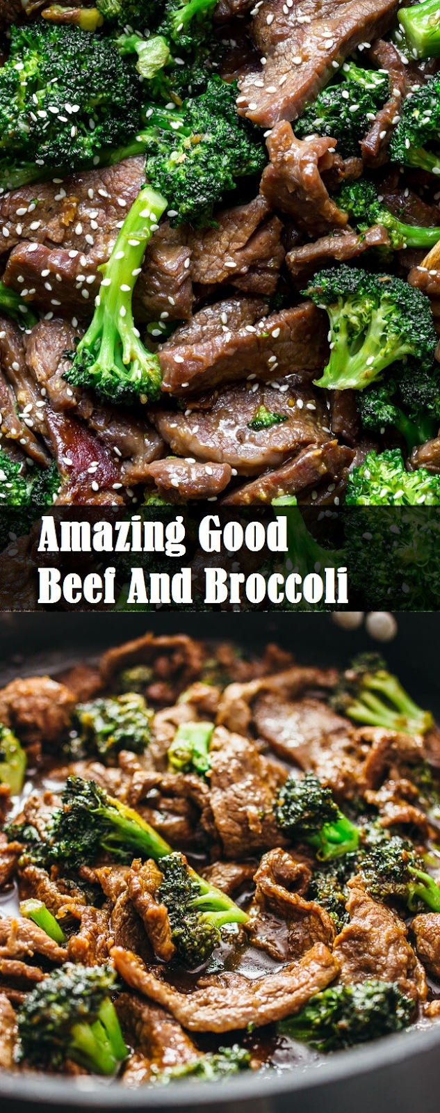 Amazing Good Beef And Broccoli