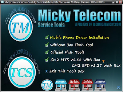 Micky Telecom Service Tool Free Download