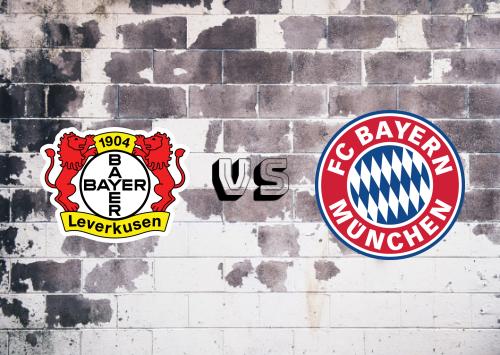 Bayer Leverkusen vs Bayern München  Resumen y Partido Completo