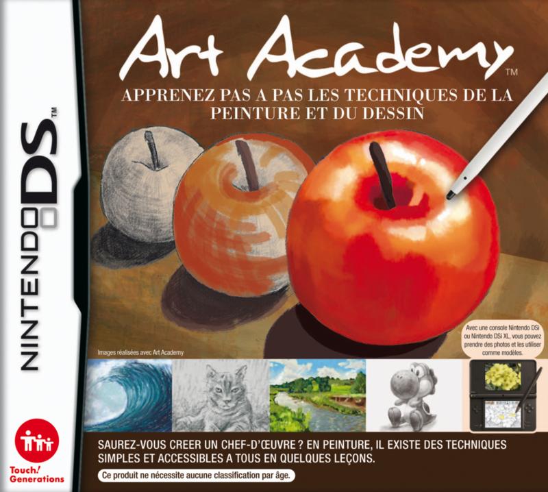 Art Academy (Nintendo DS) [NDS] Español [MF]