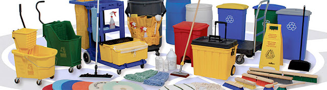 Janitorial Cleaning Supplies Essentials