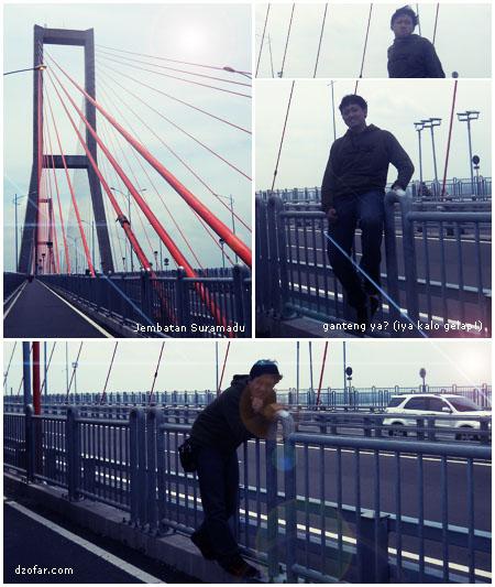 Foto2 di jembatan Suramadu