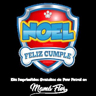 Logo de Paw Patrol: Noel