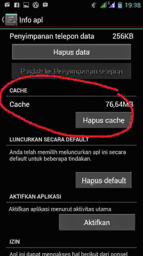 Apa yang terjadi jika cache dihapus di Hp Android ? Ini Penjelasannya