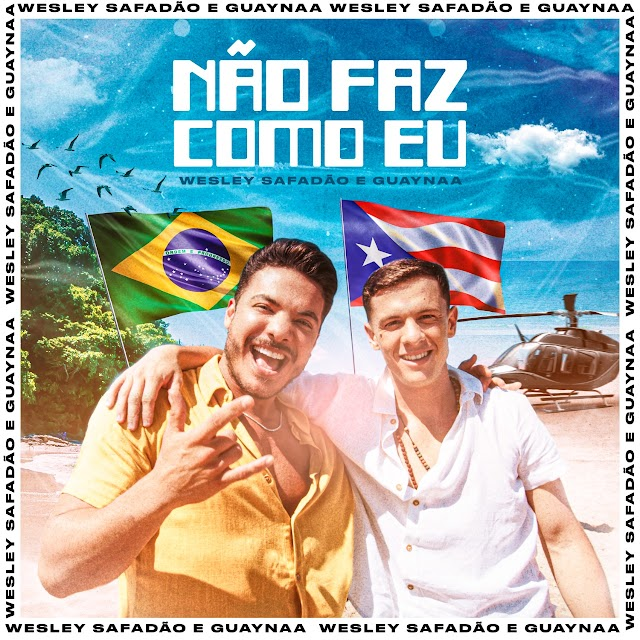 """Wesley Safadão apresenta álbum """"WS Sem Limites Deluxe"""" e faixa inédita em parceria com rapper porto-riquenho Guaynaa"""