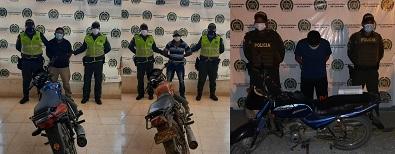 hoyennoticia.com, Capturados con motos robadas