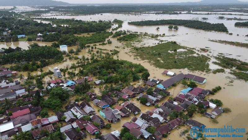 Banjir Makin Meluas, Gubernur Nyatakan Kalsel Status Tanggap Darurat