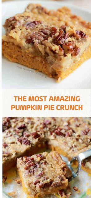 The Most Amazing Pumpkin Pie Crunch