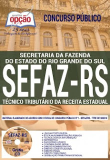 Apostila Concurso SEFAZ RS 2018 PDF Download