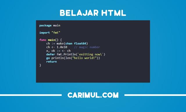 HTML Form Atribut Fungsi