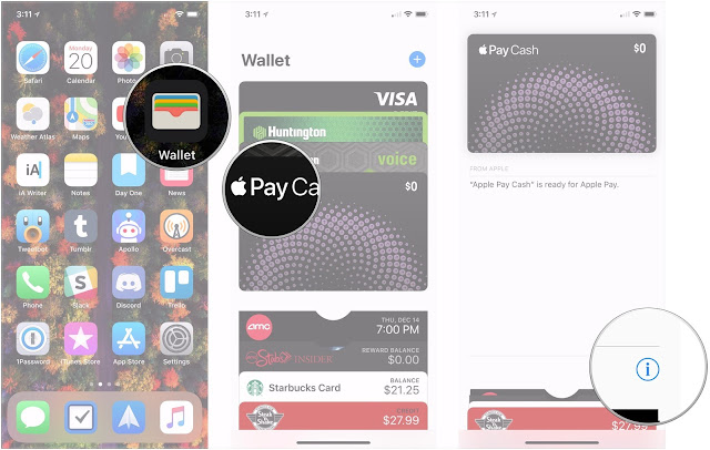 how to add money to your apple pay cash card