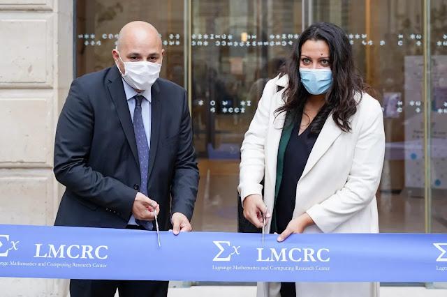 Huawei inaugura em Paris o novo Centro Lagrange de Research em Matemática e Computação