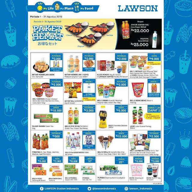 #Lawson - #Promo Katalog & Paket Hemat Agustus 2019