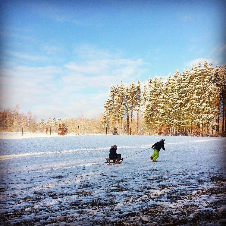 die guten Dinge blog Schnee winterwunderland