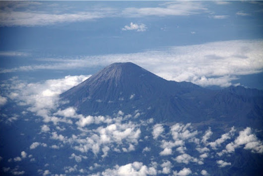 Mount Semeru with beauty on the highest ground state Indonesia
