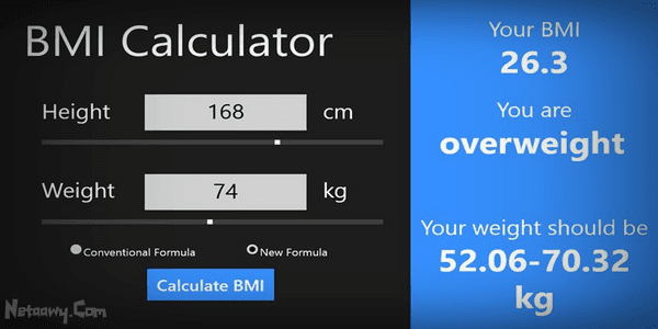 تطبيق-BMI-Calculator