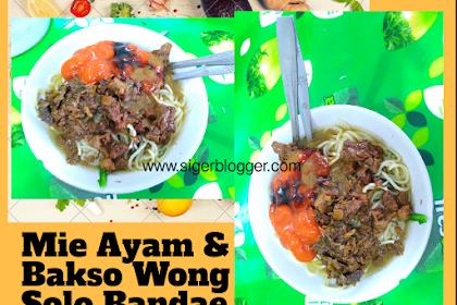 Mie Ayam & Bakso Wong Solo Sukarame Bandar Lampung