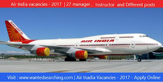 Air-india-vacancies-delhi-manager-vacancies-notification-2017