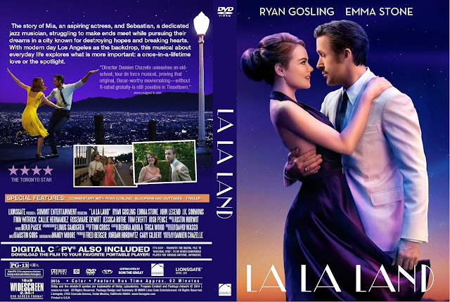 La La Land DVD Cover