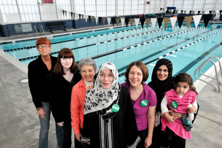 Monkey in the middle muslim women in maryland force - Female only swimming pool melbourne ...