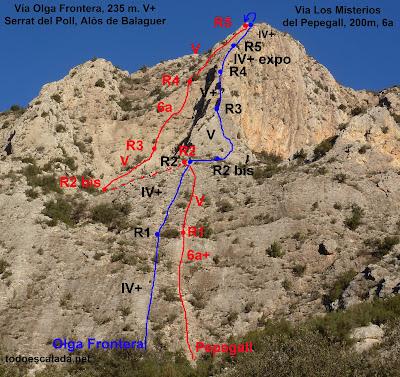 Alós de Balaguer, Olga Frontera y Los misterios del pepegall