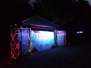 jasa backdrop lighting event gathering bogor sentul puncak