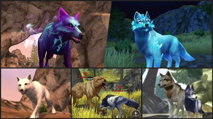 لعبة محاكاة وتقمص دور الذئب - حكايات الذئب - البيت والقلب