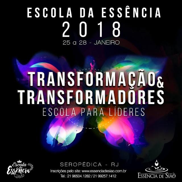 Evento para Líderes - Escola da Essencia 2018