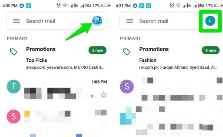 Cara Cepat Beralih Akun di Aplikasi Gmail