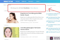 Cara Menghapus Showing Posts with Label di Blog
