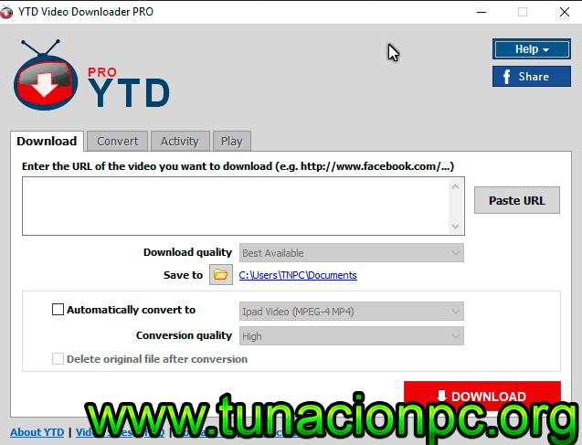 Descargar YTD Video Downloader Pro