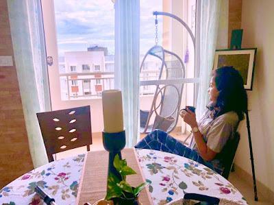 Amrita Jana - her alone time