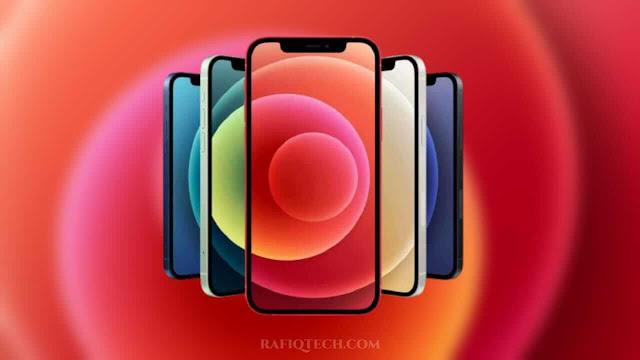تحميل خلفيات آيفون iPhone 12 و iPhone 12 Pro