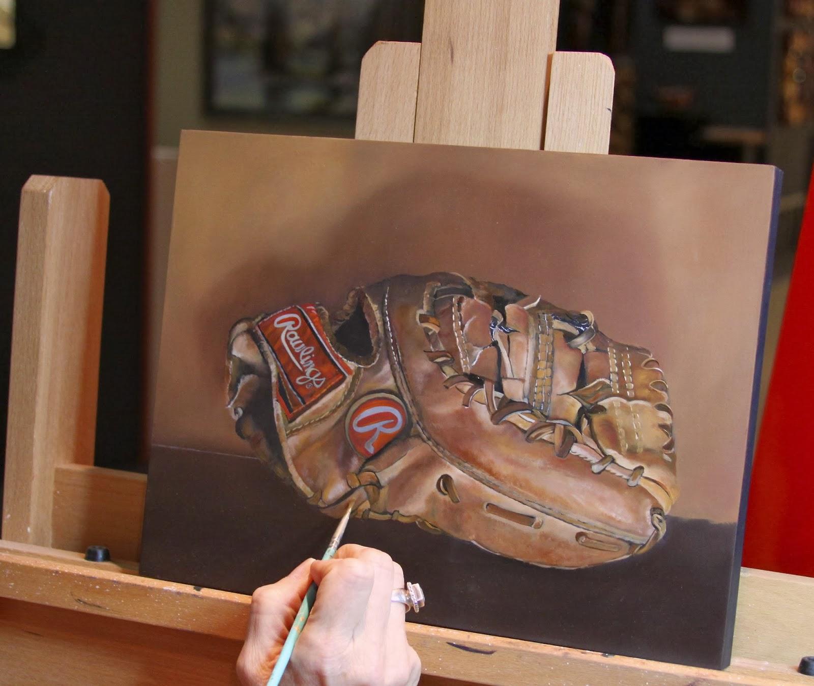 Barbara Rudolph Fine Art: Baseball Art -