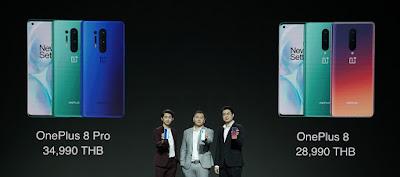 เปิดตัวพร้อมเปิดจองอย่างเป็นทางการ  OnePlus 8 Series สมาร์ตโฟนแฟล็กชิพพรีเมียมรุ่นใหม่ล่าสุด สวยงาม ทรงพลัง Lead with Speed