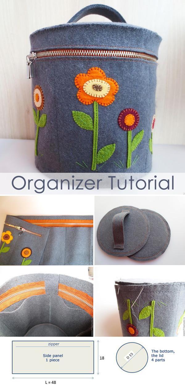 Sewing Organizer Tutorial